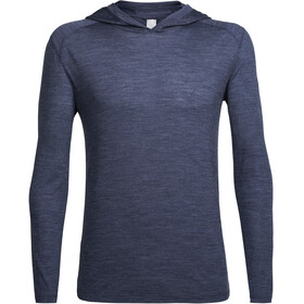 Icebreaker Sphere LS Hood Men midnight navy hthr
